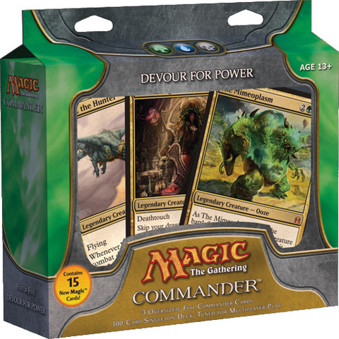 MTG Commander 2011 Deck: Devour for Power