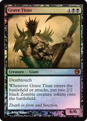 Grave Titan - Duels of the Planeswalkers 2012 Xbox Live Arcade Promo