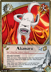 Akamaru - N-435 - Starter Deck - 1st Edition