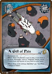 A Gift of Pain - M-747 - Uncommon - 1st Edition