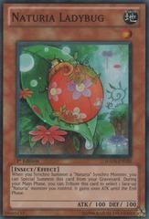 Naturia Ladybug - HA04-EN020 - Super Rare - 1st Edition