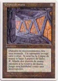 Spanish Mana Crypt - Book Promo
