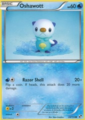 Oshawott - 28/114 - Common on Channel Fireball