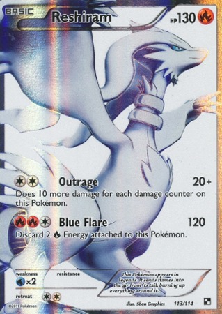 Reshiram - 113/114 - Full Art