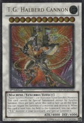 T.G. Halberd Cannon - EXVC-EN043 - Ultimate Rare - 1st Edition