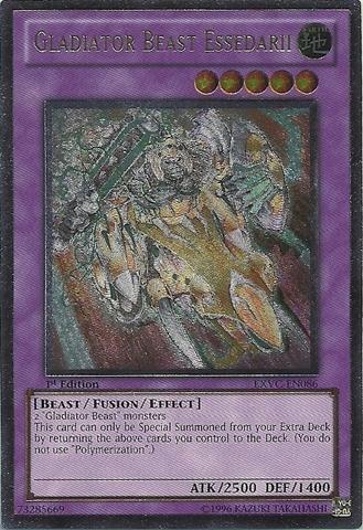 Gladiator Beast Essedarii - EXVC-EN086 - Ultimate Rare - 1st Edition