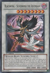 Blackwing - Silverwind the Ascendant - DP11-EN015 - Rare - 1st Edition on Channel Fireball