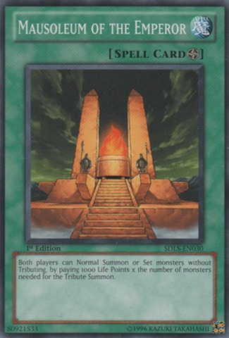 Mausoleum of the Emperor - SDLS-EN030 - Common - 1st Edition