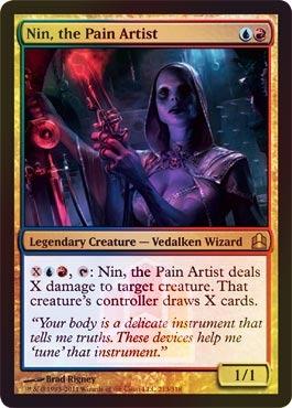 Nin, the Pain Artist (Oversized Promo Foil)