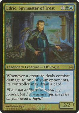 Edric, Spymaster of Trest (Oversized Promo Foil)
