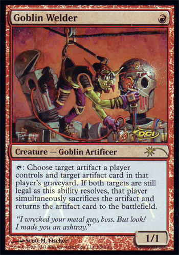 Goblin Welder - Foil DCI Judge Promo