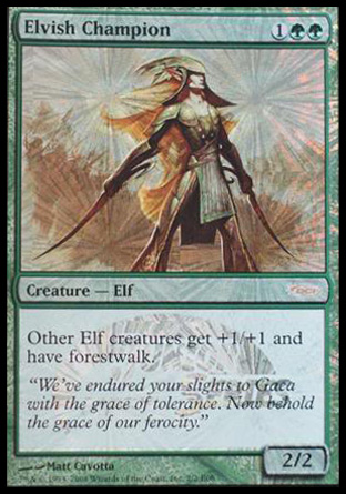 Elvish Champion - Magic Scholarship Series Promo
