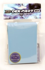 Dek Prot 50ct. Standard Sleeves - Aqua Blue