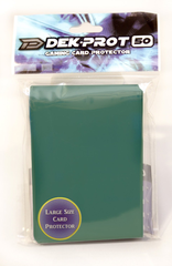 Dek Prot 50ct. Standard Sleeves - Ivy Green