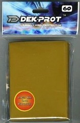 Dek Prot 50ct. Standard Sleeves - Sunset Gold