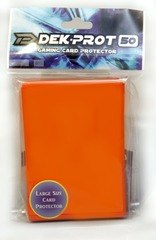 Dek Prot 50ct. Standard Sleeves - Tulip Orange