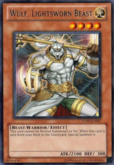 Wulf, Lightsworn Beast - TU05-EN007 - Rare - Unlimited Edition