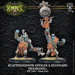Scattergunner Officer and Standard