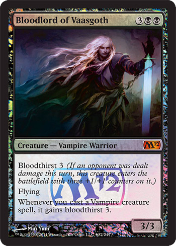 Bloodlord of Vaasgoth - Foil - Prerelease Promo