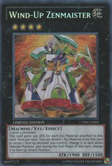 Wind-Up Zenmaister - CT08-EN002 - Secret Rare - Limited Edition