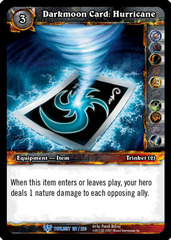 Darkmoon Card: Hurricane