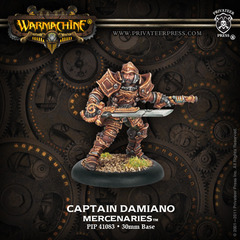 Captain Damiano - Warcaster