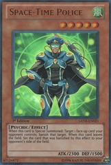 Space-Time Police - GENF-EN023 - Ultra Rare - 1st Edition
