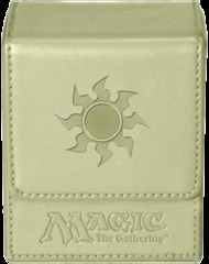 Ultra Pro White Mana Flip Deck Box