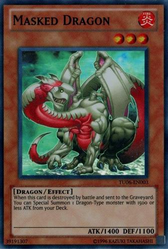 Masked Dragon - TU06-EN003 - Super Rare - Unlimited Edition