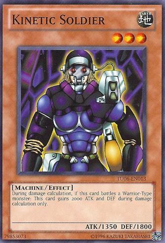 Kinetic Soldier - TU06-EN013 - Common - Unlimited Edition