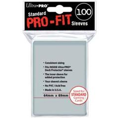 Ultra Pro Pro-Fit Standard Size Sleeves 100ct