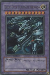 Blue-Eyes Ultimate Dragon - JMP-EN005 - Ultra Rare - Limited Edition on Channel Fireball