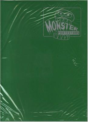 Monster Protectors 9 Pocket Matte Green Binder
