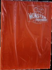 Monster Protectors 9 Pocket Orange Binder