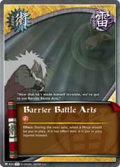 Barrier Battle Arts - J-832 - Rare - 1st Edition