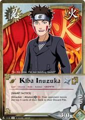 Kiba Inuzuka - N-1218 - Common - 1st Edition