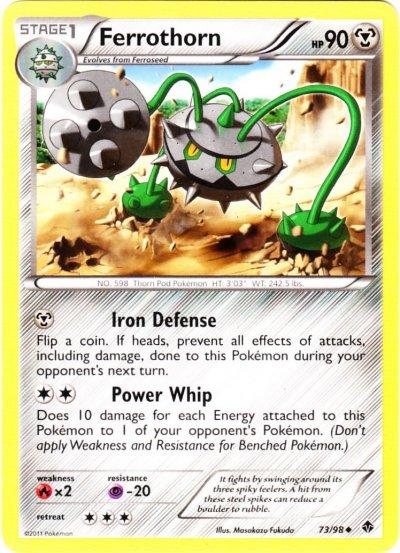 POKEMON B/&W EMERGING POWERS CHEREN 91//98