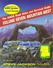 AADA Road Atlas and Survival Guide, Volume Seven: Mountain West