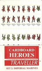 Cardboard Heroes Traveller Set 2: Imperial Marines