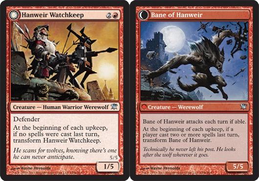 Hanweir Watchkeep // Bane of Hanweir