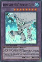 Elemental HERO Absolute Zero - GENF-ENSE1 - Super Rare - Limited Edition on Channel Fireball