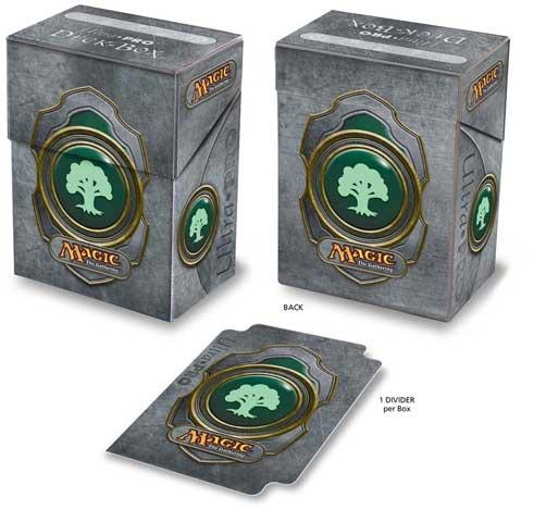 Ultra Pro Green Mana Symbol 3 Deck Box