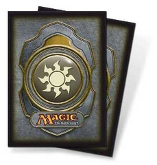 Ultra Pro White Mana Symbol Series 3 Sleeves on Channel Fireball