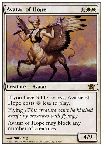 Avatar of Hope - Foil