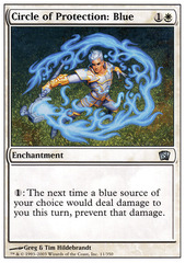 Circle of Protection: Blue - Foil