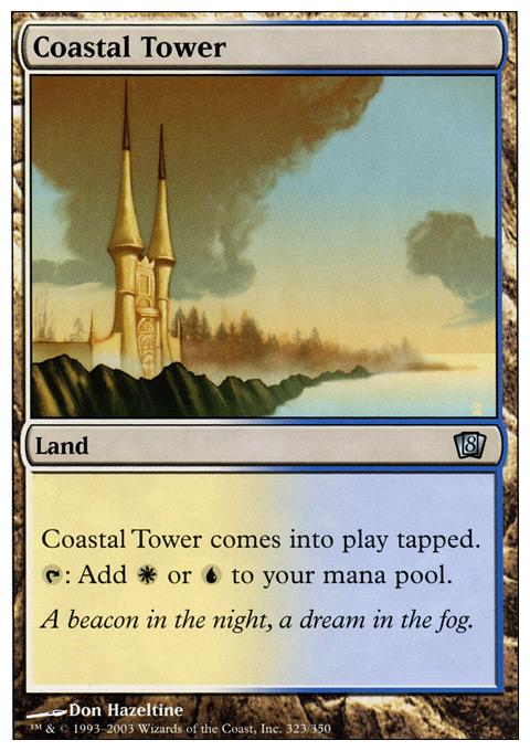 Coastal Tower - Foil