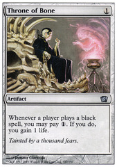Throne of Bone - Foil
