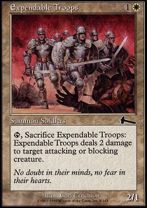 Expendable Troops - Foil