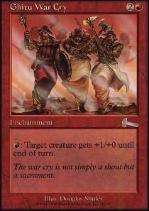 Ghitu War Cry - Foil