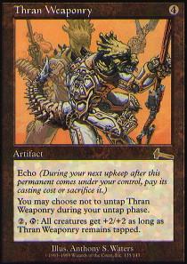 Thran Weaponry - Foil